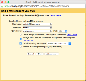 use another email with gmail 4