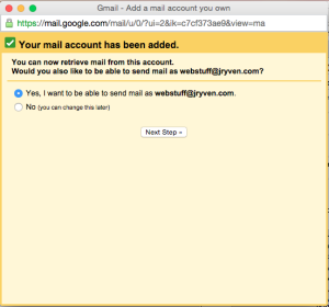 use another email with gmail  5