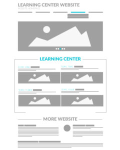 Website Learning Center Homepage View